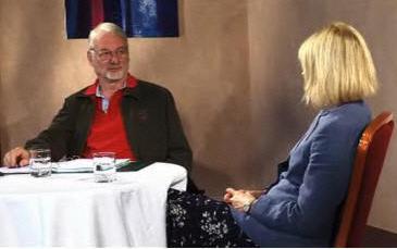 Carol Wilson with Sir John Whitmore