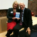 Carol Wilson with Ken Blanchard, founder of 'Situational Leadership' and author of 'One Minute Manager'