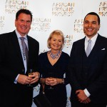 Carol Wilson, James Wright, Alexander McLean, Founder African Prisons Project