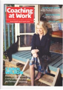 Carol Wilson, Coaching at Work profile
